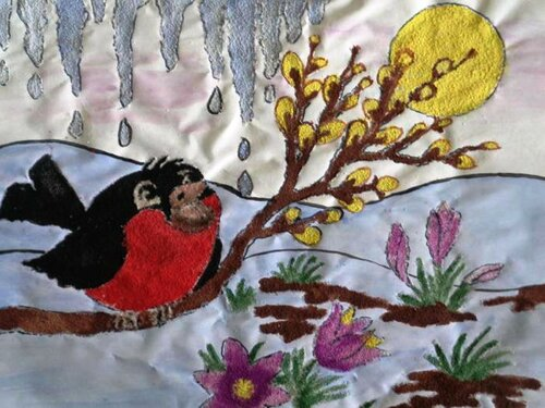 Весенний привет - Арайс Вадим Сергеевич, 7 лет, Тема -- Рисунок, г. Новомосковск.jpg