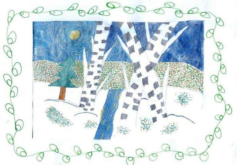 Пробуждение - Воронина Милослава, 8 лет, Тема -- Рисунок, г. Северск.jpg
