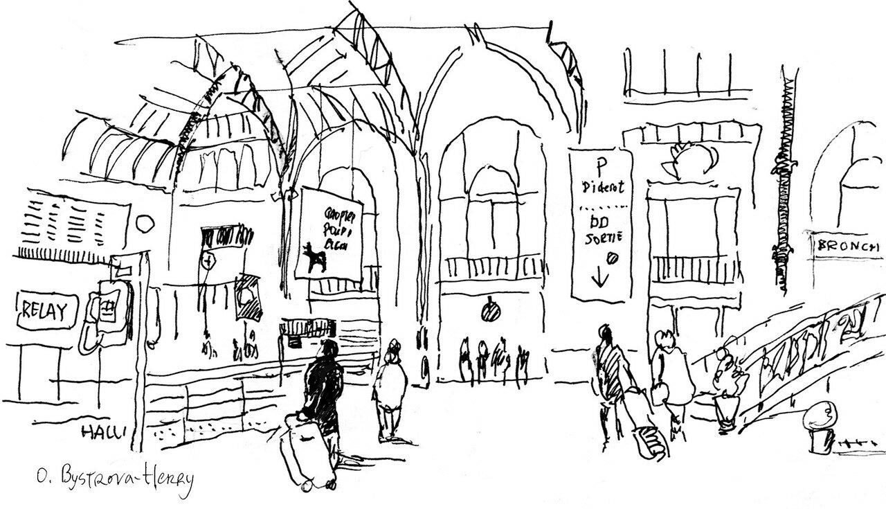 Paris. Gare de Lyon. 12 1127