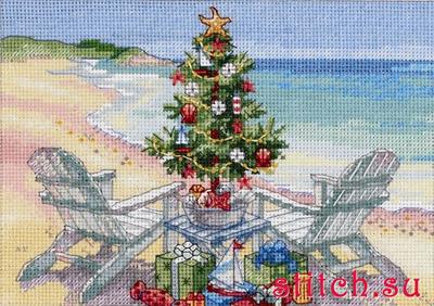 елка на пляже.jpg