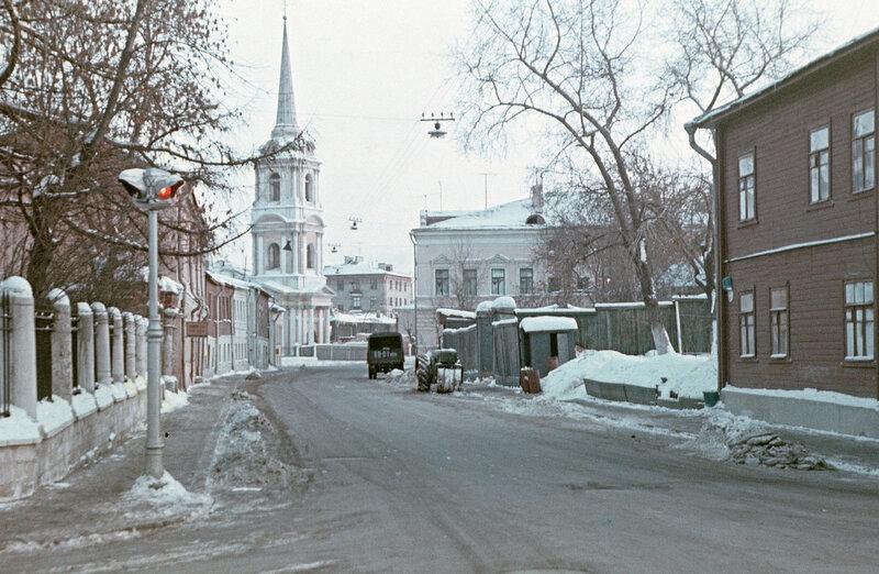 497508 Вид Токмакова переулка Стриженов М. Б. 1970.jpg