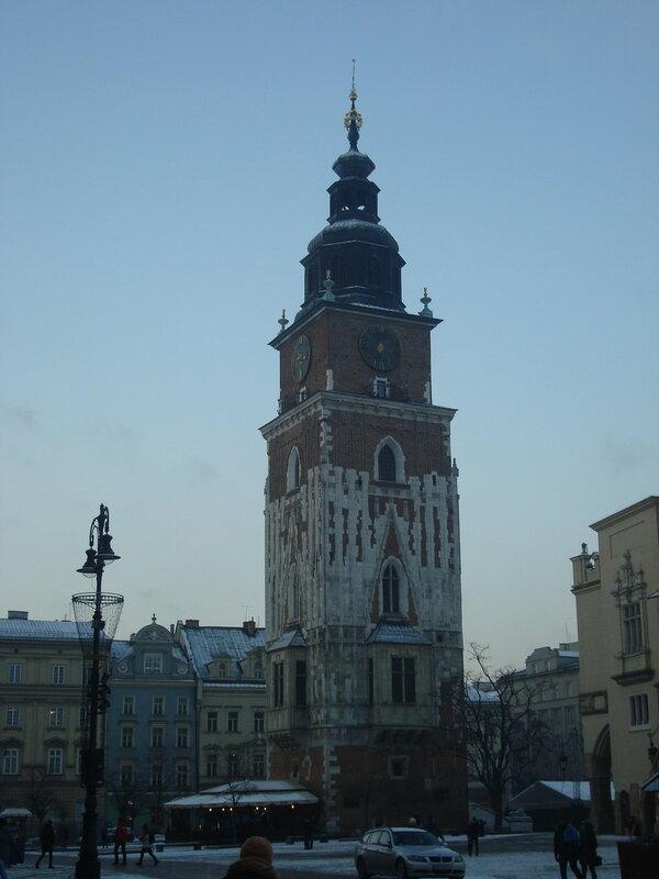 Краков. Башня старой ратуши (1)