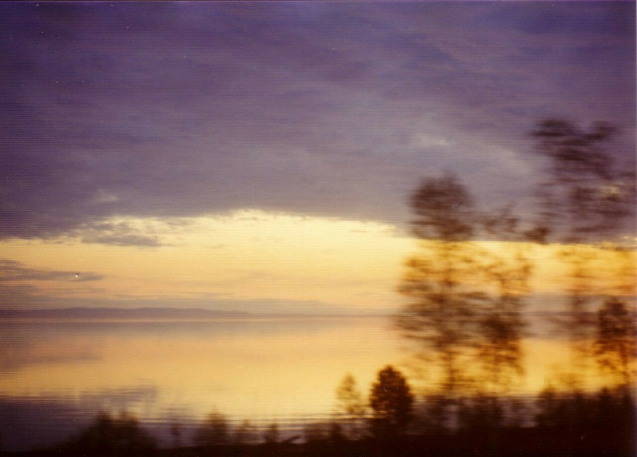 Байкал. Вид на остров Ольхон