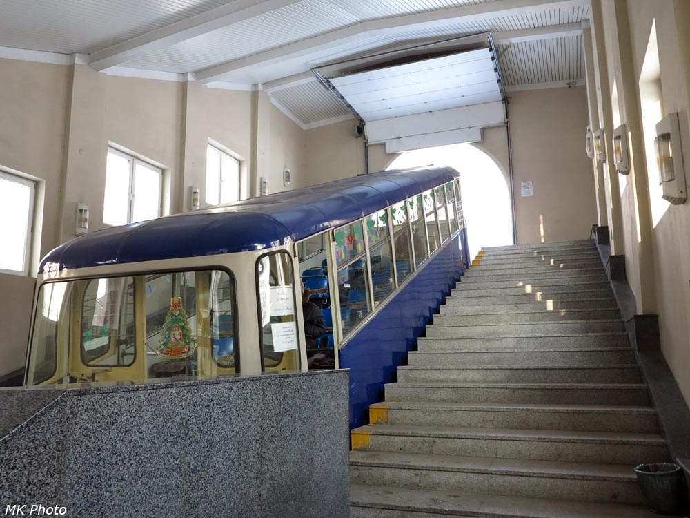 Вагон на нижней станции