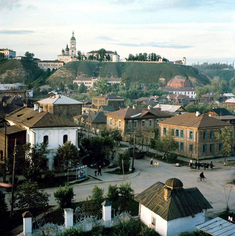 1970 В старой части города Тобольска. Олег Макаров3.jpg