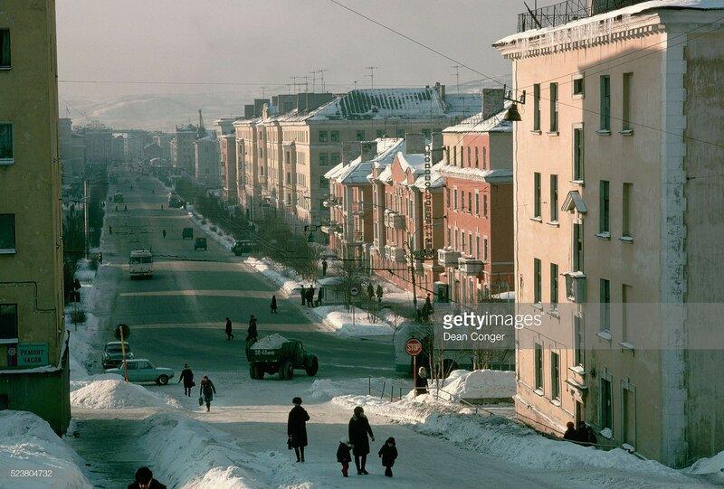 Murmansk Street Scene by Dean Conger.jpg