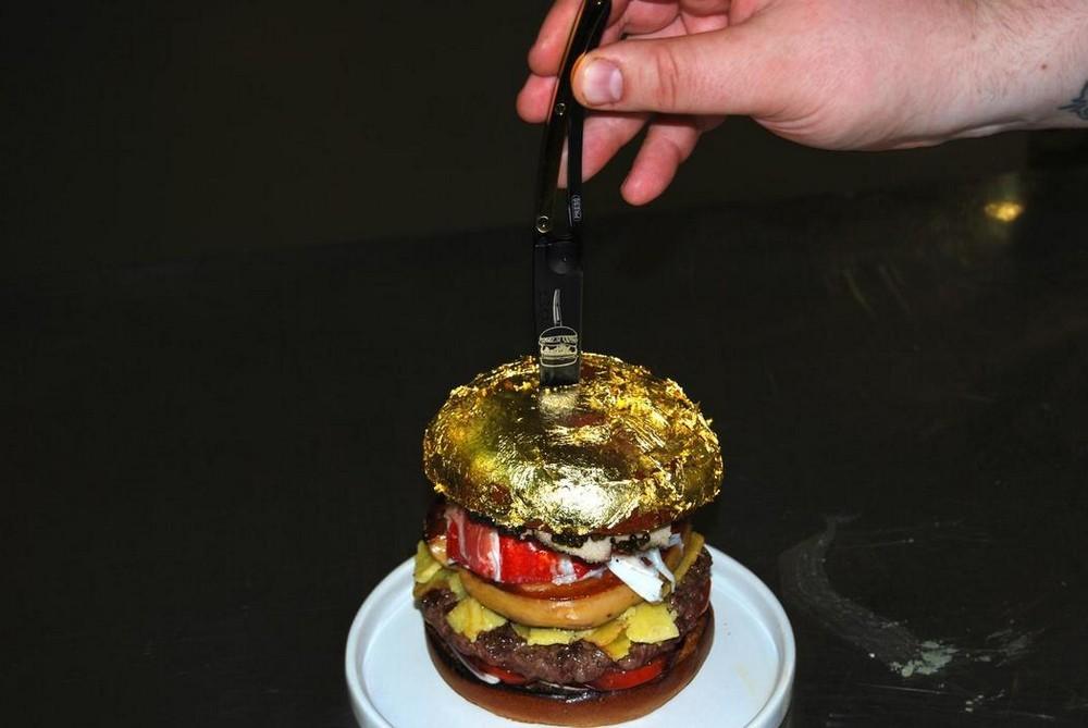 Самый дорогой в мире гамбургер за €2.050