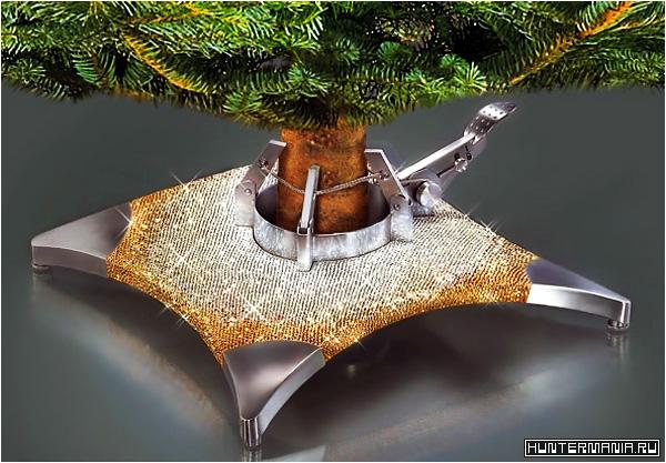 Самая дорогая в мире подставка под елку от Swarovski