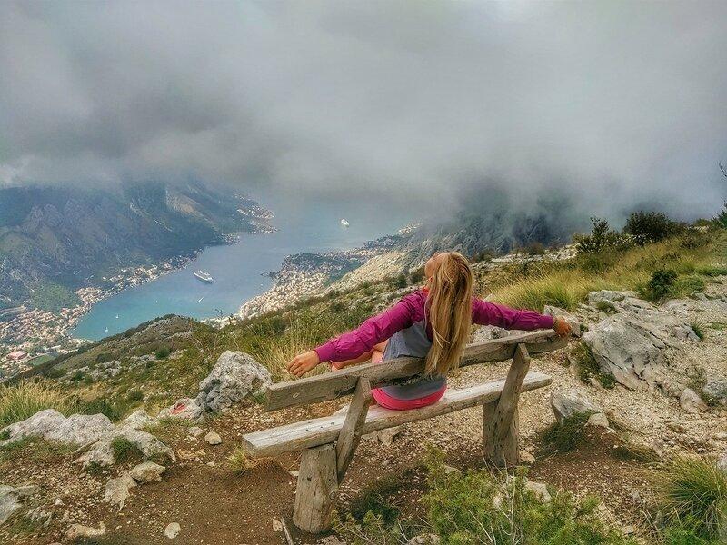 панорамные точки Черногории, лавочки Черногории