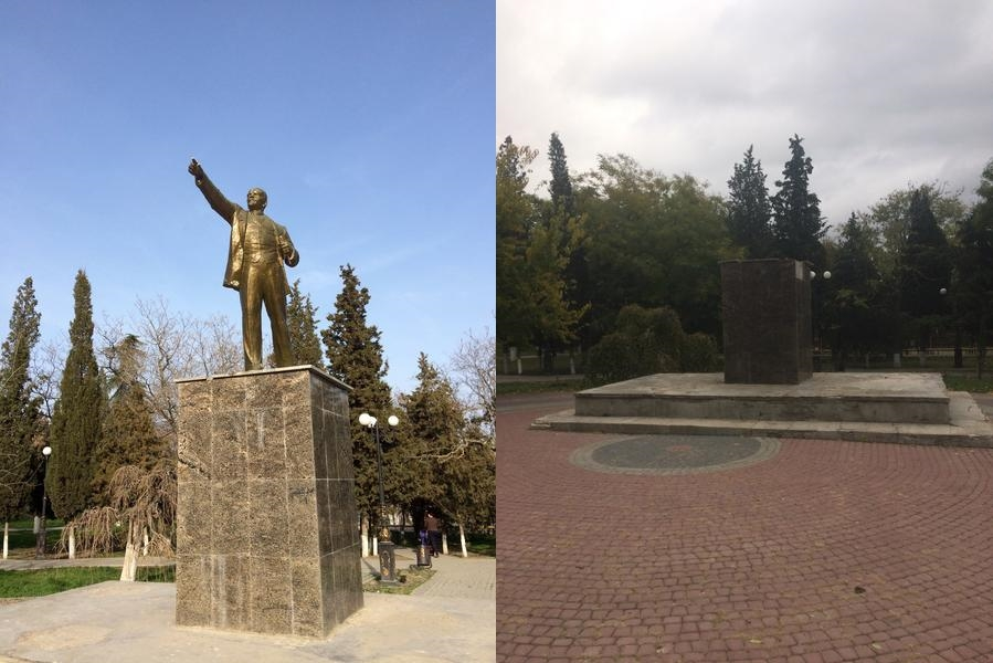 Судак-памятник Ленину