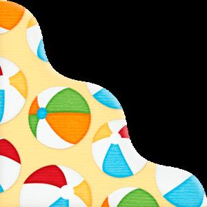 разноцветные уголки