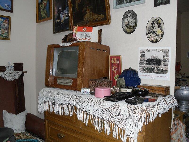 Советская квартира в экспозиции музея.