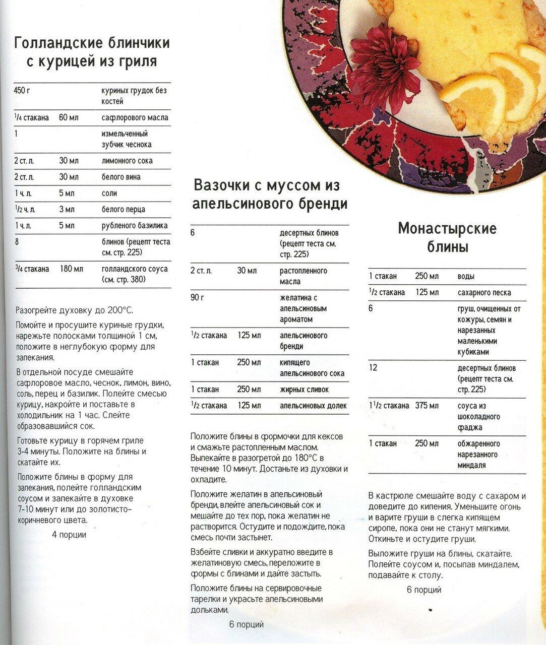 Блины в стаканах рецепты