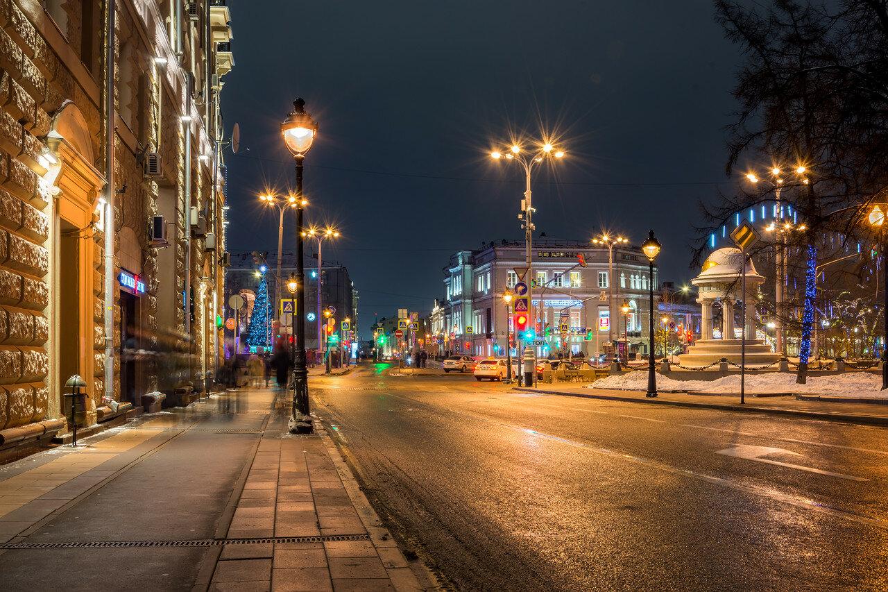 Немного ночной Москвы