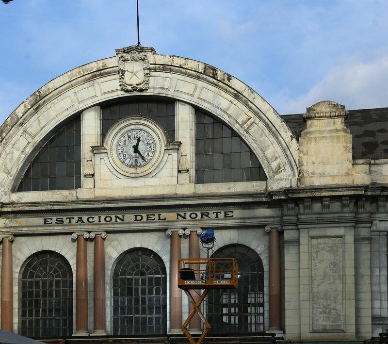 Мадрид. Вокзал Принсипе Пио (Estación de Príncipe Pío)