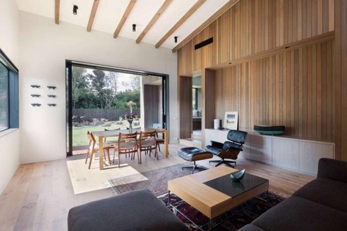Дом из дерева в Новой Зеландии