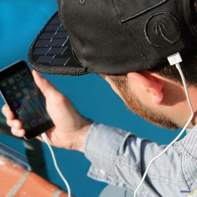 SOLSOL – зарядное устройство на голове! (2 фото)