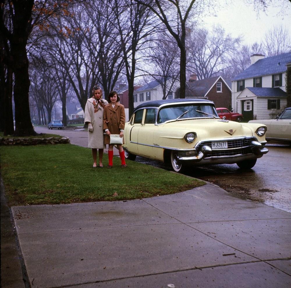 Это весна 1965-го. Фото сделано в городке Уилмит, штат Иллинойс.