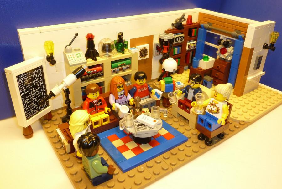 8. Теория Большого Взрыва Компания Lego планирует выпустить набор по популярному сериалу. В него вой