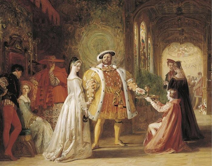 Уже через неделю после казни Анны Болейн король женился на ее фрейлине Джейн Сеймур. Она умерла от р
