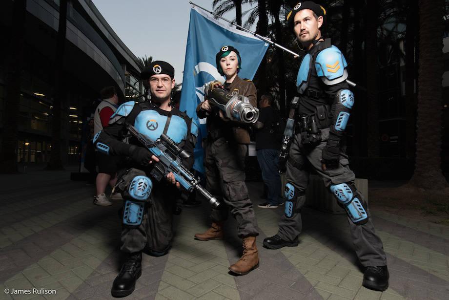Косплей с BlizzCon 2015