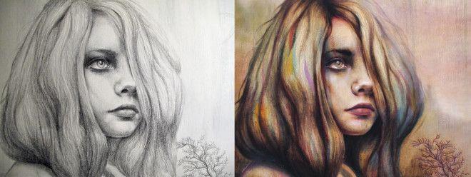 Выразительные портреты девушек от Майкла Шапкотта