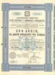 Акционерное общество сухой перегонки и химических производств   1899 год