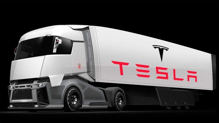 Tesla обнародовала 1-ый тизер своего грузового автомобиля