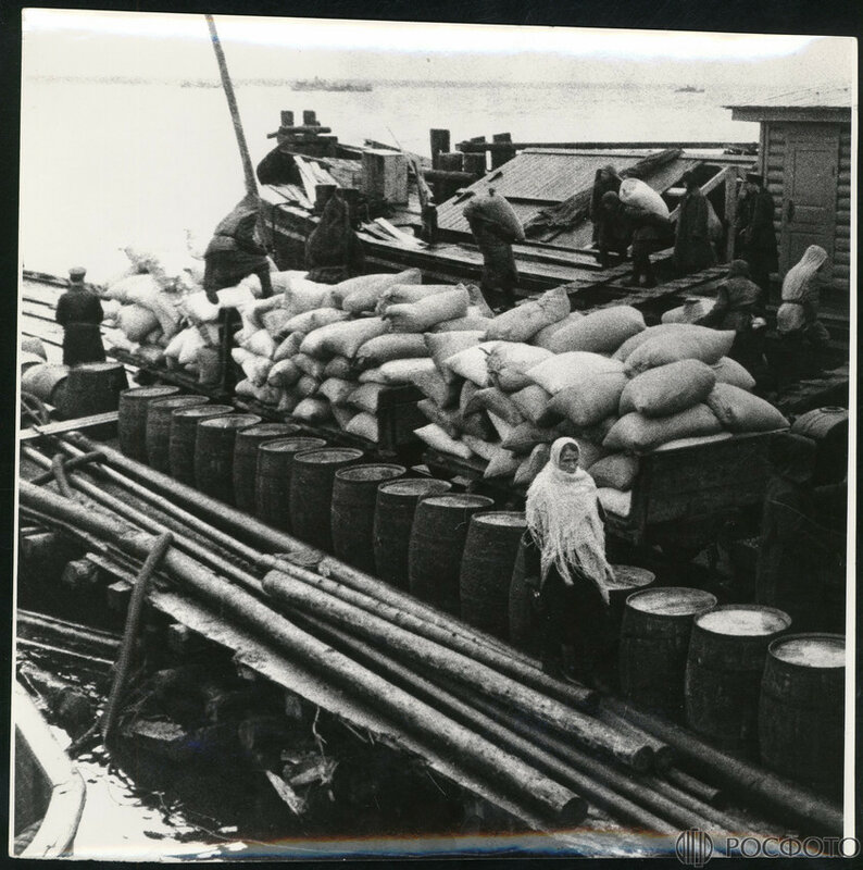 Хлеб - Ленинграду. Ладога 1942 г.