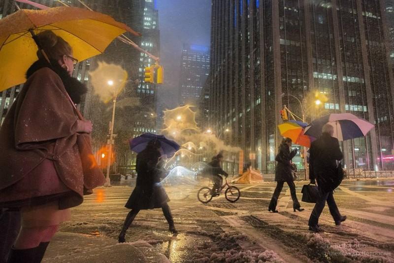 Питерская погода может настичь почти везде!