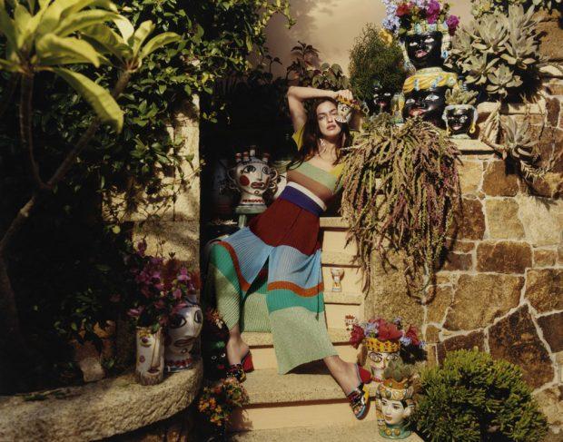 Irina Shayk Stars in Missoni Spring Summer 2017 Campaign