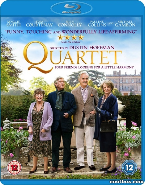 Квартет / Quartet (2012/BDRip/HDRip)
