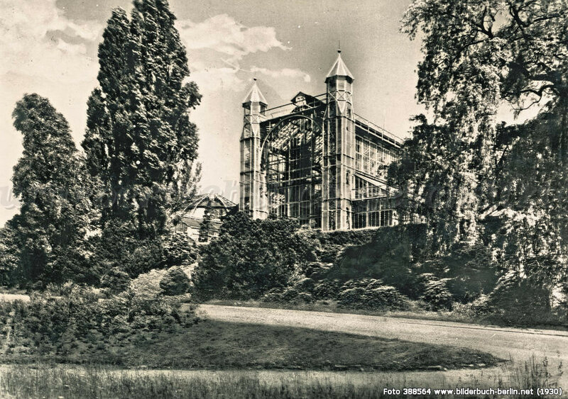 Botanischer Garten Grosses Gewächshaus