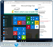 Windows 10 Version 1703 with Update [15063.11] (x86-x64) AIO [24in2] adguard (v17.03.31)