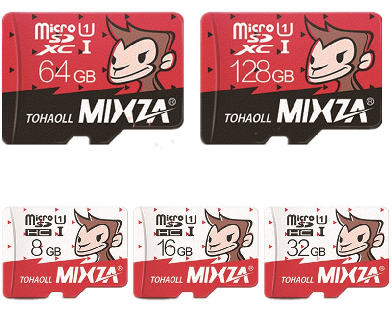Карта micro sd MIXZA Monkey