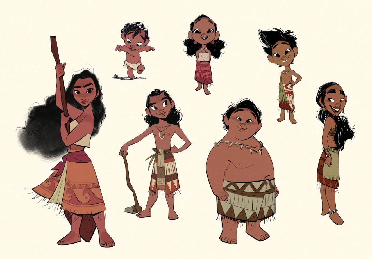 Disney's Moana Concept Art by Bobby Pontillas