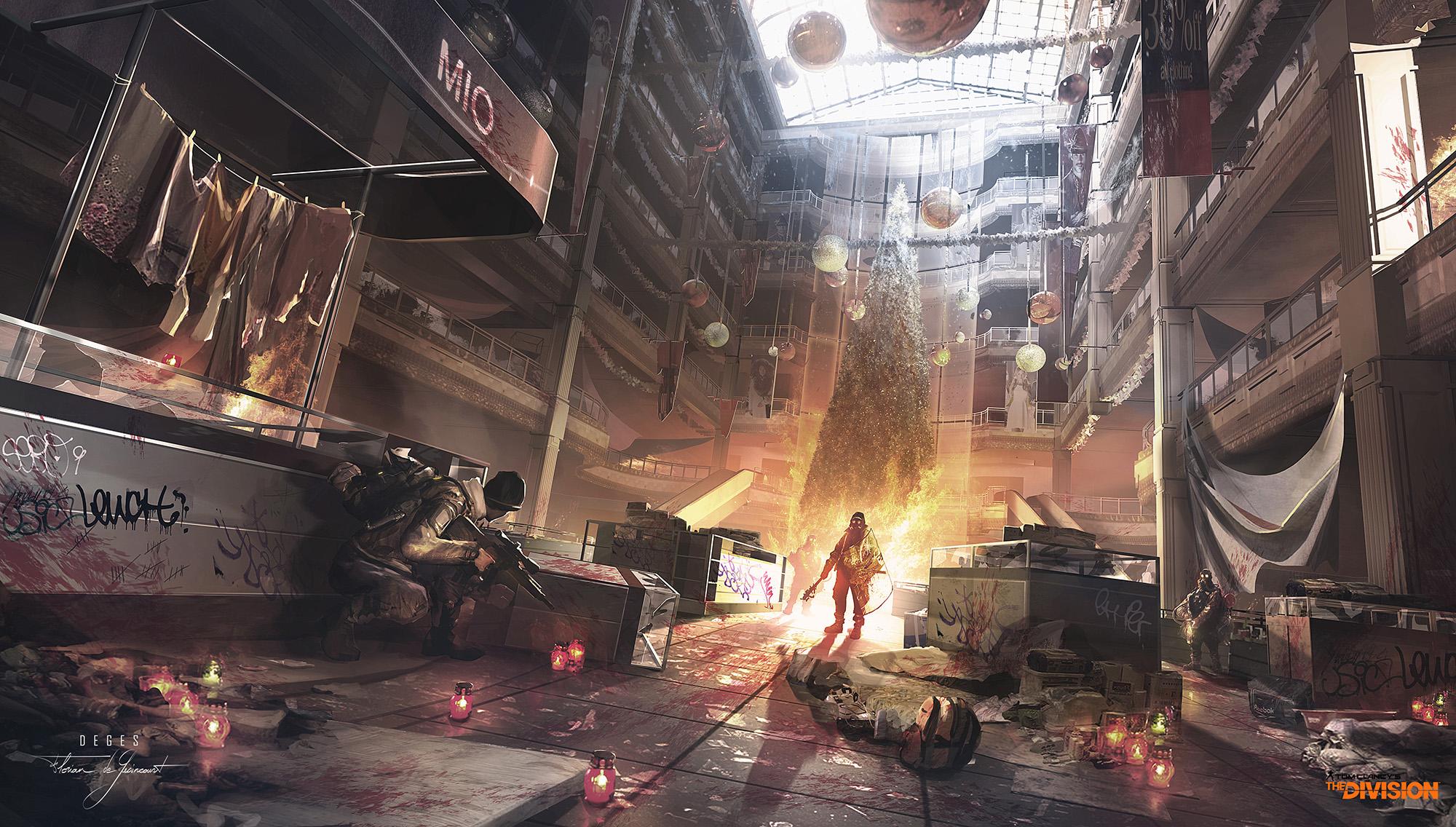 Tom Clancy's The Division Concept Art by Florian de Gesincourt