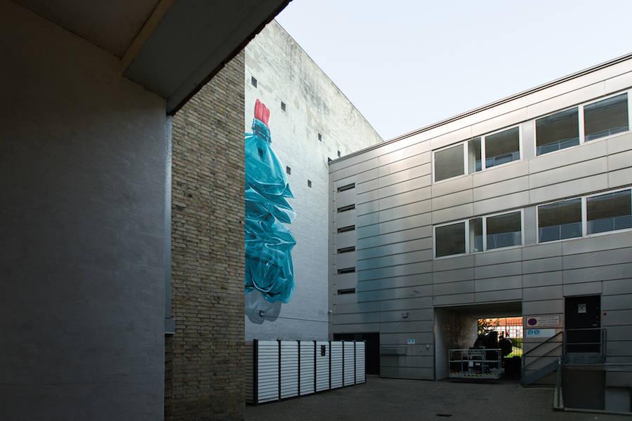 Superb New Mural in Denmark by Nevercrew