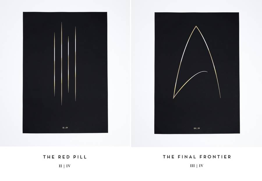 """The Thin Gold Line"" Cinematic Poster Collection (6 pics)"