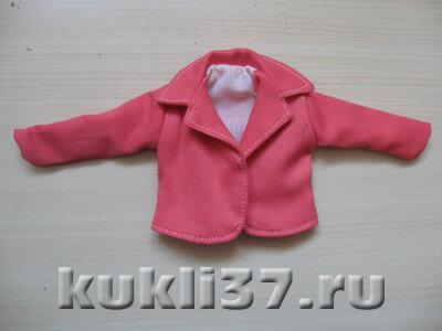 пиджак для Барби с подкладкой