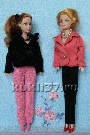 пиджак для куклы Барби