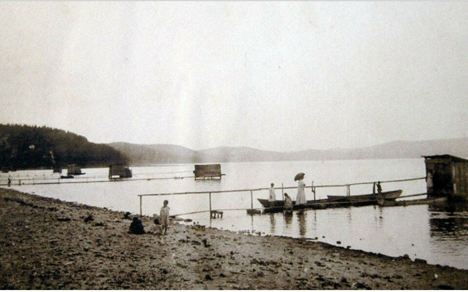 Окрестности Миасса. Тургояк. Озеро Тургояк. Купальни