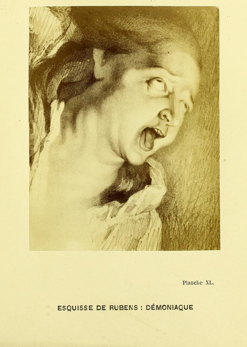 24. Эскиз Рубенса. Бесноватая
