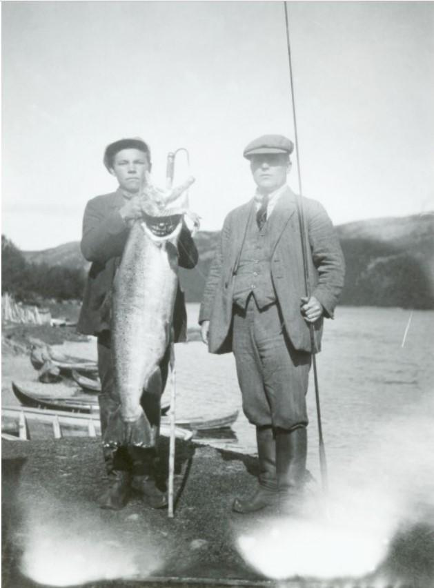 Большой лосось