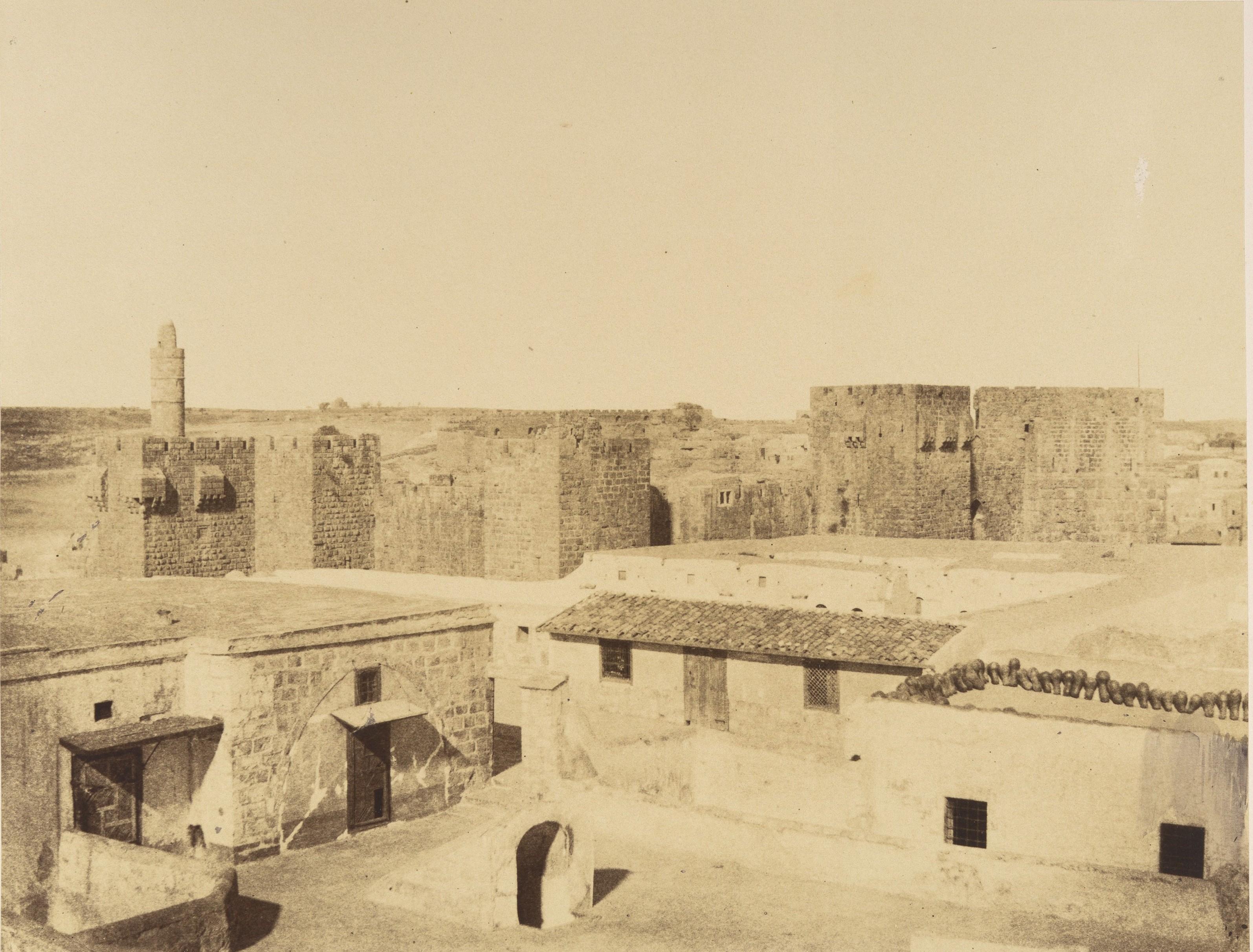 Вид крепостной стены