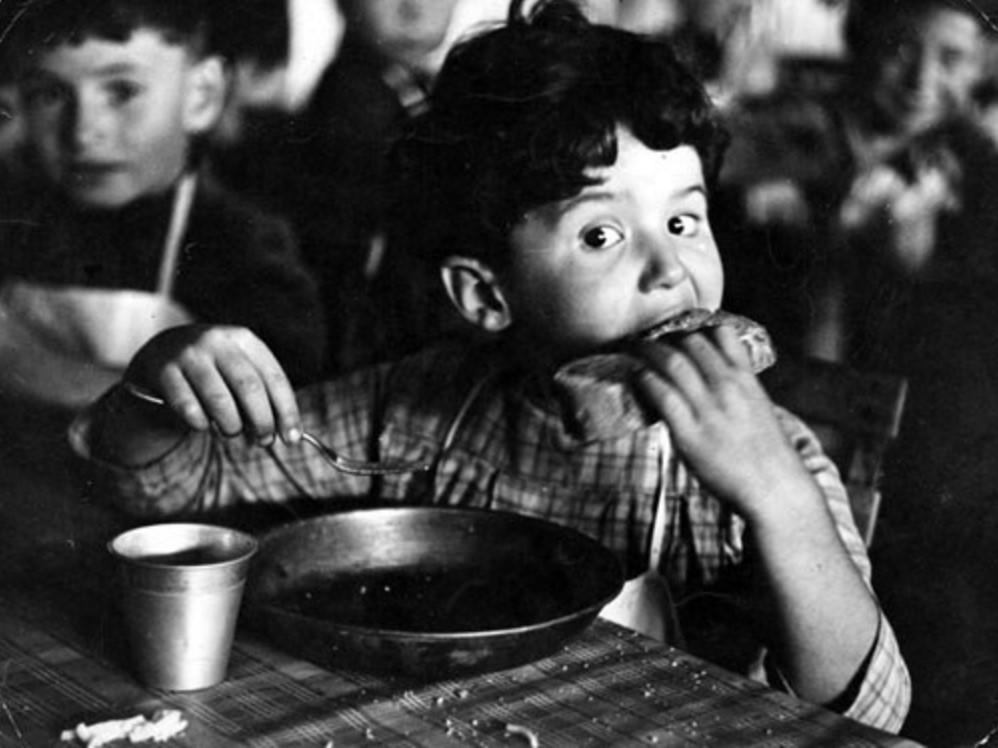 1940. Эвакуированные дети, Франция