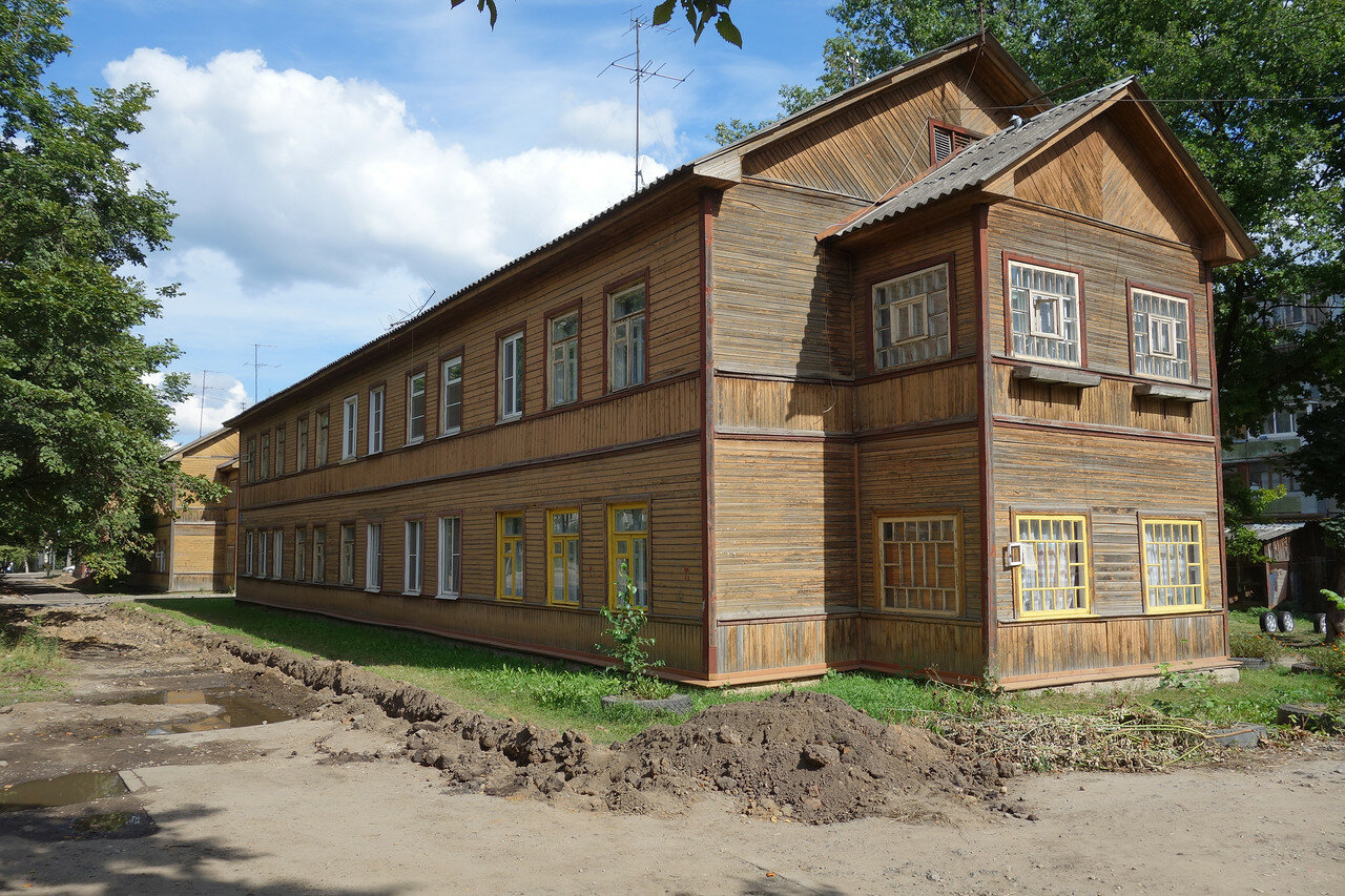 деревянные дома города
