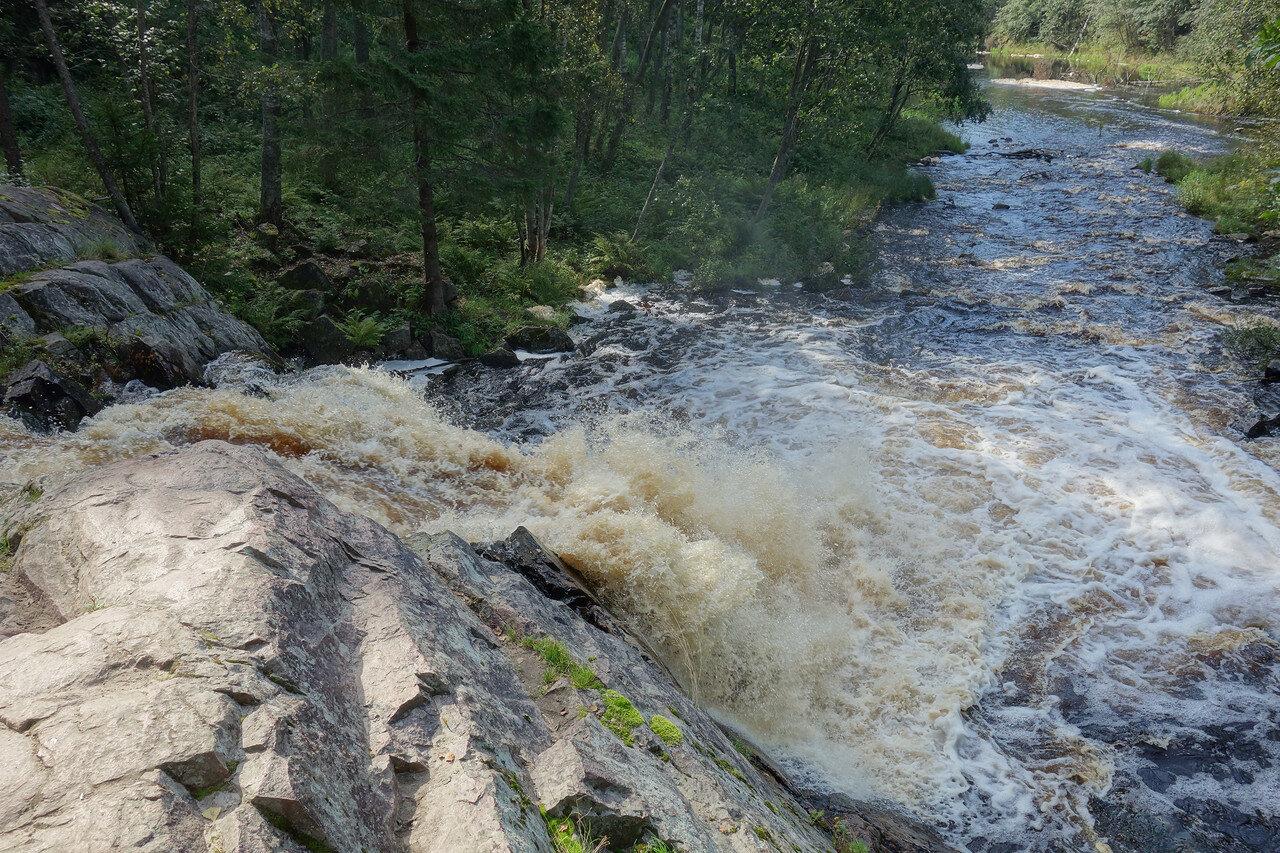 водопад на р. Койринйоки