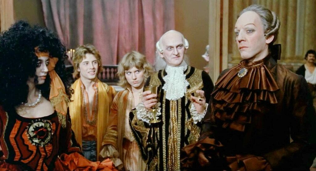 секс в костюмах 17 века