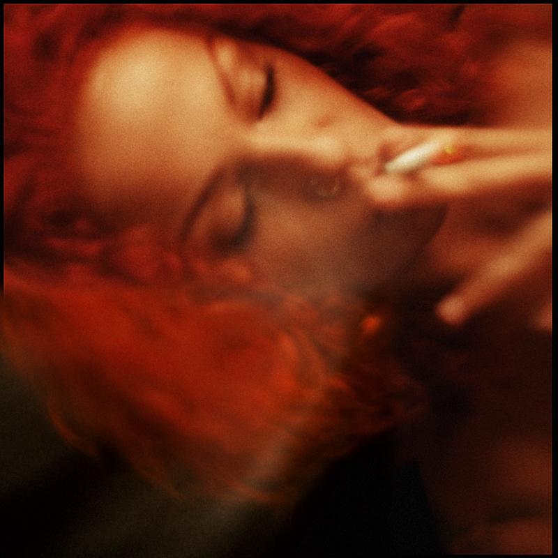 Рыжий синий / фотограф sasha